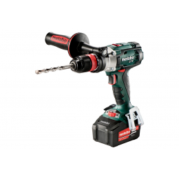 Metabo SB 18 LTX QUICK Perceuse à Percussion, Visseuse 18V 2x5.2Ah (602200650)