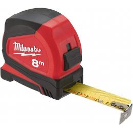 Milwaukee Mètres à ruban 8m professionnelle compacte (4932459594)