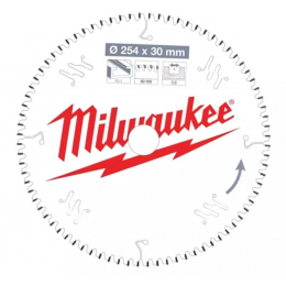Milwaukee Lame de scie circulaire Alu Ø254x30x80Dts (4932471318)
