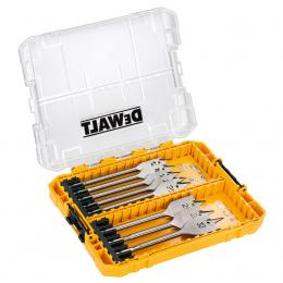 DeWalt DT70750-QZ Coffret Toughcase de 8 Forets Flatwood pour le bois