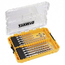 DeWalt DT70752-QZ Coffret Toughcase de 10 Forets béton SDS+ XLR 4 Taillants