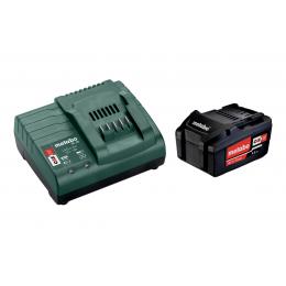 Metabo Pack de Batterie Li-ion 18V 1x4.0Ah + Chargeur SC30 (685192000)