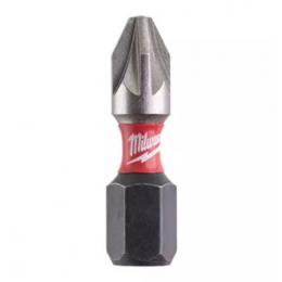 Milwaukee Embout PZ2 de Vissage Shockwave 25mm (4932430864)