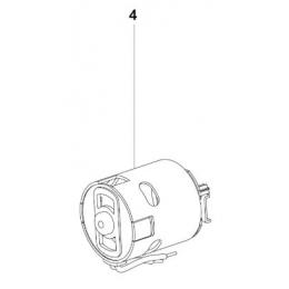 Metabo Moteur 18V Boulonneuse SSW 18 LT, SSD 18 LT (317003800)