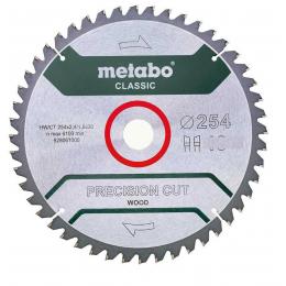 Metabo Lame de Scie Circulaire ø254x30x2.4 40Dts Bois Precision Cut Classic (628325000)