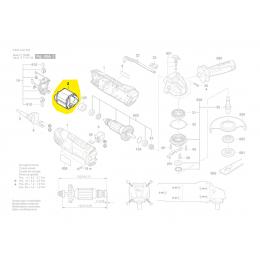 Bosch Épanouissement Polaire meuleuse PWS750-125, PWS750-115, PWS780-125 (2609005828)
