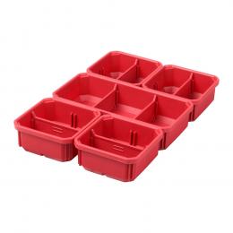 Milwaukee Conteneurs amovibles pour organisateur Packout Slim (4932478301)