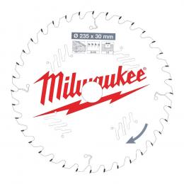 Milwaukee Lame de scie circulaire Bois Ø235x30x36Dts (4932471306)