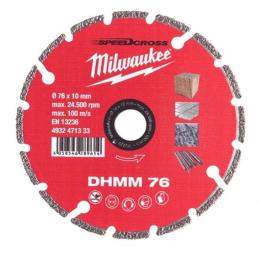 Milwaukee Disque Diamant ø76mm DHMM Multi-matériaux (4932471333)