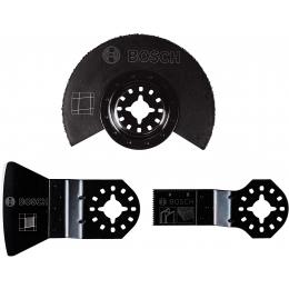 Bosch Set de 3 Lames Carrelage pour outil multifonction STARLOCK (2608662342)