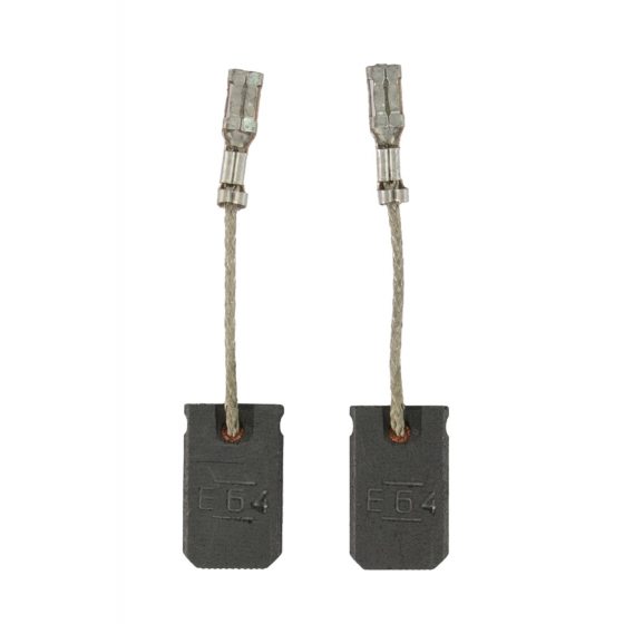 Bosch Paire de Balais pour meuleuse d'angle GWS 8-115, GWS 10-125, GWS 10-125 CE, GWS 11-125 CI, GWS 13-125 CE (1607014176)