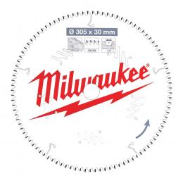 Milwaukee Lame de scie circulaire Bois Ø305x30x100Dts (4932471322)