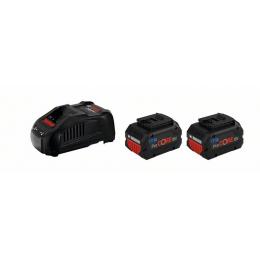 Bosch Starter set ProCORE 18V 2x5.5Ah + Chargeur GAL 1880 CV (1600A0214C)