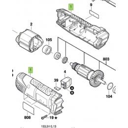 Bosch Carter de meuleuse angulaire PWS Universal+ 125 (2609004775)