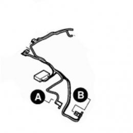 Bosch 2609004394 Filtre antiparasitaire pour tronçonneuse AKE30, AKE35, AKE40, AKE45