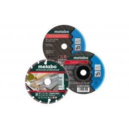 Metabo Set de 3 disques ø76mm pour meuleuse d'angle (626879000)