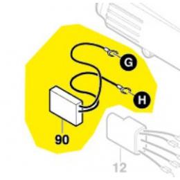 Bosch 2607329147 Filtre antiparasitaire ponceuse excentrique GEX150