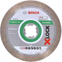 Bosch 2608615164 Disques à tronçonner ø125mm diamantés Best for Ceramic X-LOCK