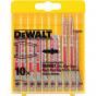 DEWALT Coffret plastique de 10 lames  DT2292