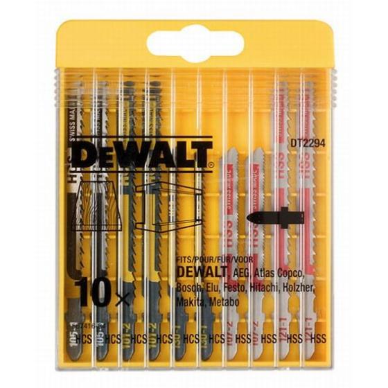 DEWALT Coffret plastique de 10 lames  DT2294