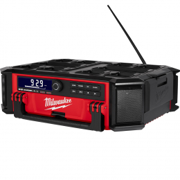 Milwaukee M18 PORC-0 Radio de chantier Packout + Chargeur 18V