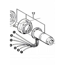 Bosch 1609202261 Corps chauffant cylindrique pour décapeur thermique GHG600CE