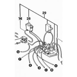 Bosch 1609202266 Carte électronique pour décapeur thermique GHG600CE