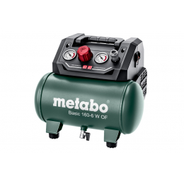 Metabo Compresseur d'air Basic 160-6 W OF 8 Bars 65L/min (601501000)