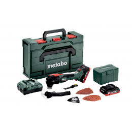 Metabo MT 18 LTX BL QSL Multitool 18V 2x4.0Ah LiHD + metaBOX (613088800)