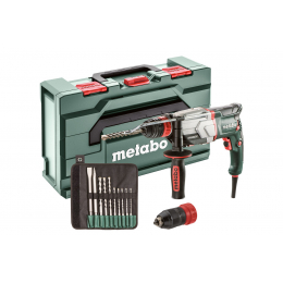 Metabo UHE 2660-2 QUICK SET Perforateur, Burineur Multifonctions SDS+ 800W 2.8J (600697510)