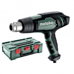 Metabo Pistolet à air chaud 2000W HG 20-600 + Coffret metaBOX 145 (602066500)