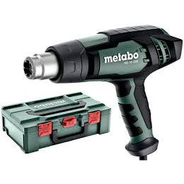 Metabo Pistolet à air chaud 1600W HG 16-500 + Coffret metaBOX 145 (601067500)