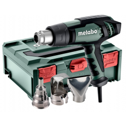 Metabo Pistolet à air chaud 2300W HGE 23-650 LCD + Coffret metaBOX 145 (603065500)
