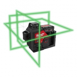 Milwaukee M12 3PL-0C Laser Vert 3 Lignes 360° (4933478103)