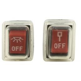 Metabo Set de 2 interrupteurs pour scie KGS 254, KGS 216, KS 216, KGS 254 M (1010734203)
