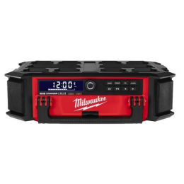 Milwaukee M18 PRCDAB+-0 Radio de chantier Packout + Chargeur 18V (4933472112)