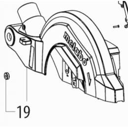 Metabo Capot de protection de lame KGS 254 M (316056240)