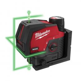 Milwaukee M12 CLLP-301C Laser Vert 2 Lignes avec Applomb 12V 1x3.0Ah (4933478100)
