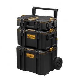 DeWalt Trolley + Boites à outils mobile TOUGHSYSTEM 2.0 DWST83402-1