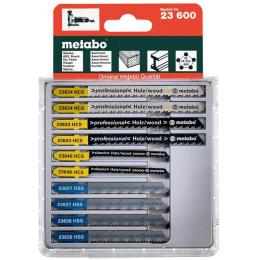 Metabo Assortiment de 10 lames de scie sauteuse bois et métal (623600000)