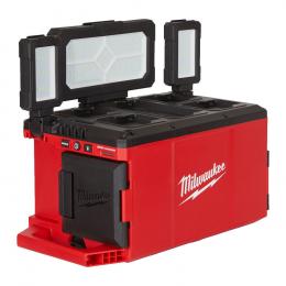 Milwaukee M18 POALC-0 Projecteur Led Hybride 18V/230V 3000 Lumens Packout (4933478120)