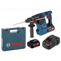 Bosch GBH 18V-26 Professional Perforateur sans fil 18V 2x6.0Ah (0611909003)