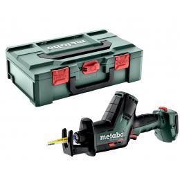 Metabo SSE 18 LTX BL Scie Sabre Compact Sans Fil 18V Seule + Coffret metaBOX (602366840)