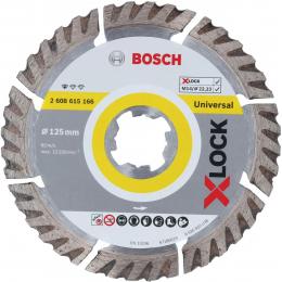 Bosch Disques à tronçonner ø125mm diamantés Standard for Universal X-LOCK (2608615166)