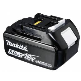 Makita BL1850B Batterie Makstar Li-ion 18V 5.0Ah avec témoin de charge (197280-8)