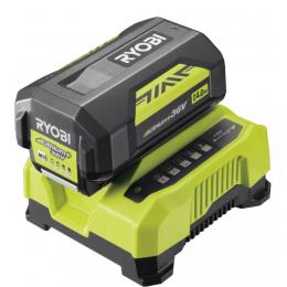 Ryobi RY36BC60A-140 Kit de Batterie et chargeur 36V 4.0Ah Lithium (5133004705)
