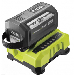 Ryobi RY36BC60A-160 Kit de Batterie et chargeur 36V 6.0Ah Lithium (5133004706)