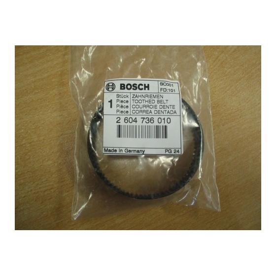 BOSCH 2604736010 Courroie pour Rabot
