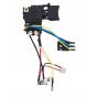 Makita Interrupteur TG553FSB-4B pour perceuse BDF441, BDF444, BDF451, BDF454, BHP441, BHP444, BHP451, BHP454 650653-1