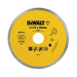 DeWALT Disque diamant ø110x20mm pour scie à carrelage DWC410 (DT3714-QZ)